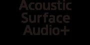 Логотип технології AcousticSurfaceAudio+