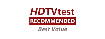 Логотип HDTVtest Recommended Best Value