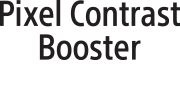 Логотип технології PixelContrastBooster